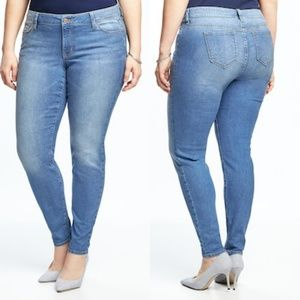 26 Old Navy Plus Size Super Skinny Jeans NWT